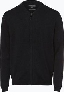 Czarny sweter Finshley & Harding w stylu casual z kaszmiru
