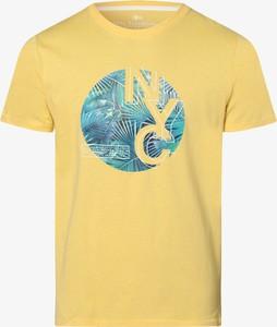 T-shirt Nils Sundström w młodzieżowym stylu z dżerseju z krótkim rękawem
