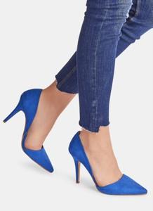 Niebieskie szpilki DeeZee w stylu klasycznym