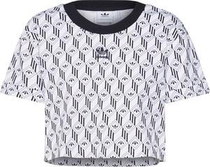 Bluzka Adidas Originals z dżerseju z krótkim rękawem