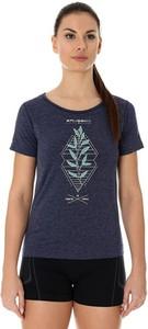 Niebieski t-shirt Brubeck
