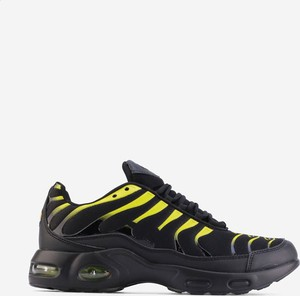Czarne buty sportowe Yourshoes sznurowane