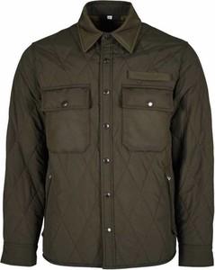 Zielona kurtka Burberry w stylu casual krótka