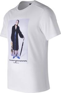 Koszulka New Balance z bawełny
