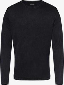 Niebieski sweter Jack & Jones z bawełny w stylu casual