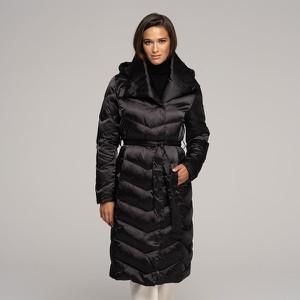 Czarny płaszcz Wittchen w stylu casual