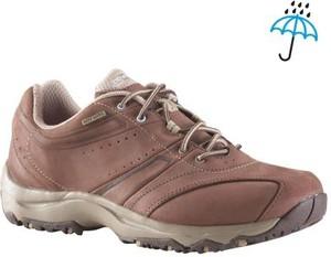 Brązowe buty sportowe Newfeel sznurowane