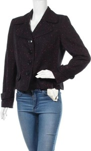 Czarny płaszcz Nine West w stylu casual