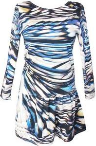 Sukienka For Heart midi z długim rękawem