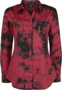 Czerwona koszula Emp z długim rękawem