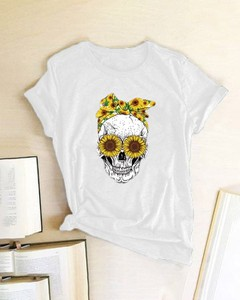 T-shirt Kendallme z nadrukiem z krótkim rękawem z okrągłym dekoltem