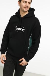 Czarna bluza Obey z bawełny