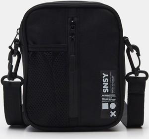 Czarna torba Sinsay