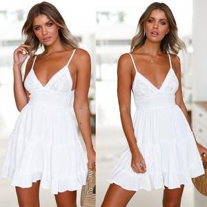 90818baafb biała sukienka z koronki - stylowo i modnie z Allani