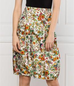 Spódnica Tory Burch mini w stylu casual z jedwabiu