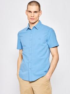 Niebieska koszula Levis z krótkim rękawem
