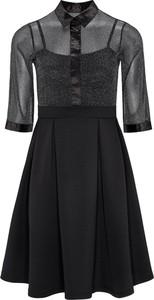 Sukienka Avon w stylu casual z tkaniny z długim rękawem