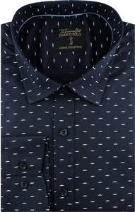 Koszula Enrico Polo z długim rękawem w młodzieżowym stylu z tkaniny