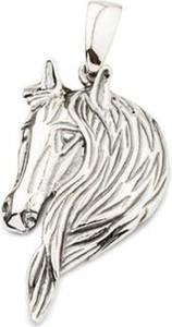 Polcarat Design Srebrny wisiorek oksydowany Koń W 1781