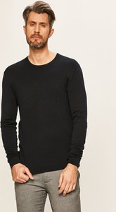 Czarny sweter Tailored & Originals w stylu casual