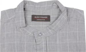 Koszula Aldo Vrandi w stylu casual z klasycznym kołnierzykiem z bawełny
