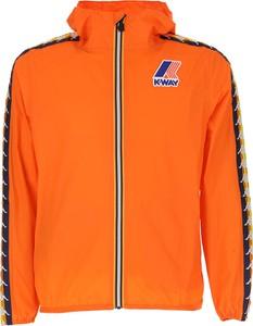 Pomarańczowa kurtka dziecięca K-Way