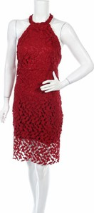 Czerwona sukienka Pretty Summer bez rękawów mini