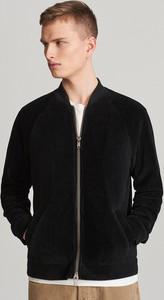 Czarna kurtka Reserved ze sztruksu