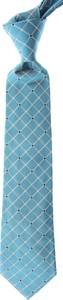 Turkusowy krawat Moschino