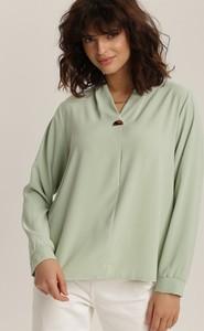 Bluzka Renee w stylu casual z długim rękawem