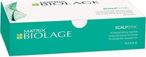 MATRIX BIOLAGE SCALPSYNC kuracja Aminexil przeciw wypadaniu włosów 10x6ml