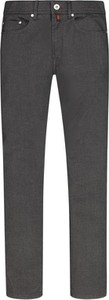 Czarne spodnie Pierre Cardin z bawełny