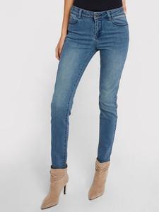 Niebieskie jeansy Morgan w stylu casual