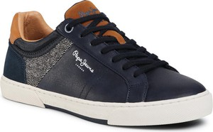 Pepe Jeans Sneakersy Rodney Basic PMS30696 Granatowy