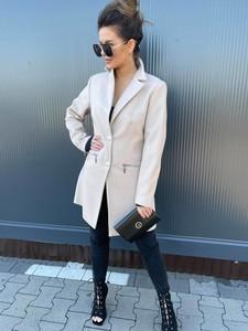 Płaszcz Versada w stylu casual bez kaptura