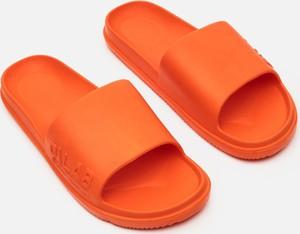 Pomarańczowe buty letnie męskie Cropp