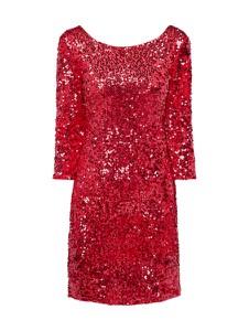 Sukienka Vila z długim rękawem mini w stylu glamour