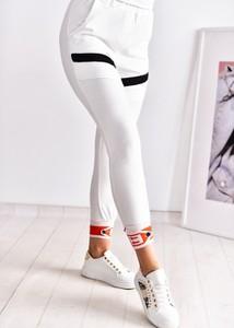 Spodnie sportowe Fason z bawełny