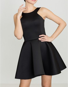 Czarna sukienka LENITIF