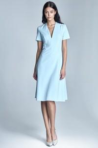Błękitna sukienka Nife