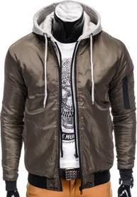 Ombre clothing kurtka c197 - khaki
