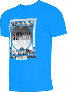 Błękitny t-shirt 4F