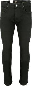 Czarne jeansy Lee z jeansu