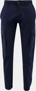 Granatowe spodnie Jack & Jones