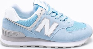 Błękitne buty sportowe New Balance