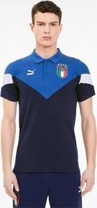 T-shirt Puma z nadrukiem w sportowym stylu z krótkim rękawem