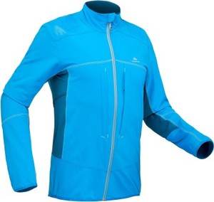 Niebieska kurtka Quechua