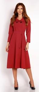 Czerwona sukienka Lou-Lou midi