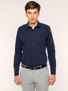 Granatowa koszula Strellson