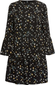 Sukienka bonprix RAINBOW z okrągłym dekoltem w stylu boho